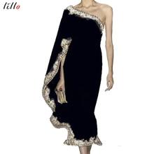 Vestido asimétrico de fiesta para mujer, vestido asimétrico de estilo Lolita, a la moda, con volantes, diseño único, envío gratis