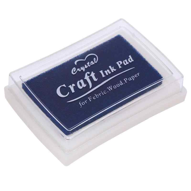 CRAFT Ink Pad Multi-สีสร้างสรรค์ DIY Home แสตมป์หมึก Pad สำหรับ Scrapbooking Stamps Partner Finger Pad สำหรับเด็กหัตถกรรมตกแต่ง