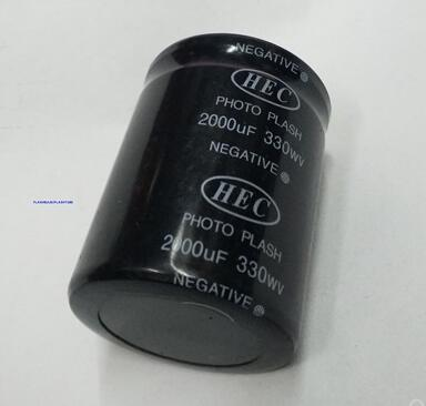 330V 2000UF Photo Flash Capacitor 42*56mm