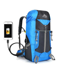 Exceed Light Usb Charge Motion Backpack Hike Both Shoulders Package Go On A Journey Have Picnic Outdoors Record Hill