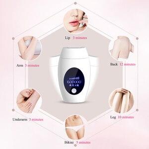 Image 4 - 600000 Flash Ipl Laser Hair Removal Machine Permanent LED Laser Epilator Precision Clipper For  Bikini,Body,Face,Underarm