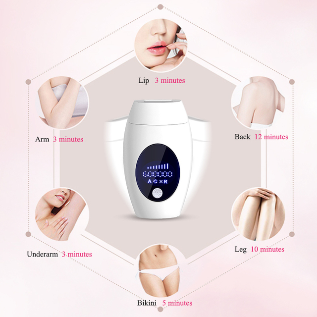 Flash Ipl Laser Epilator Precision Hair Removal