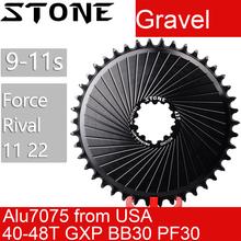 Кольцо из камня для гравия Rival 11 22 Force 11 22, прямое Крепление DM, зубчатая пластина для колеса Sram для дорожного велосипеда axs