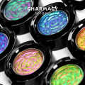 CHARMACY Insane Shifters Chameleon Eyeshadow High Pigment Duochrome Cosmetic Long Lasting Easy To Wear Single Glitter Eyeshadow