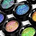 CHARMACY безумные весла тени для век, которые могут изменить свой цвет светильник изменение мерцание вспышка высокое пигмент для глаз, макияж, Д...