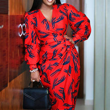 オフィス女性長袖ドレス流行のシンプルなエレガントな冬の秋ベストセラーハイウエストvネック長袖