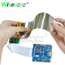 wisecoco 6 inch flexible screen 2160*1080 amoled LCD high brightness with HDMI mipi micro usb driver board