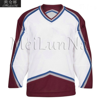 Paul Kariya Teemu Selanne Joe Sakic Peter Forsberg Patrick Roy Adam Foote Colorado Retro Jerseys