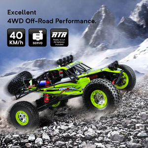 Image 4 - 1/12 RC Cars 4WD High Speed Racing car 48km/h RTR Rc truck 2.4G Radio Control Buggy Off Road vehicle Electric Toy Gifts
