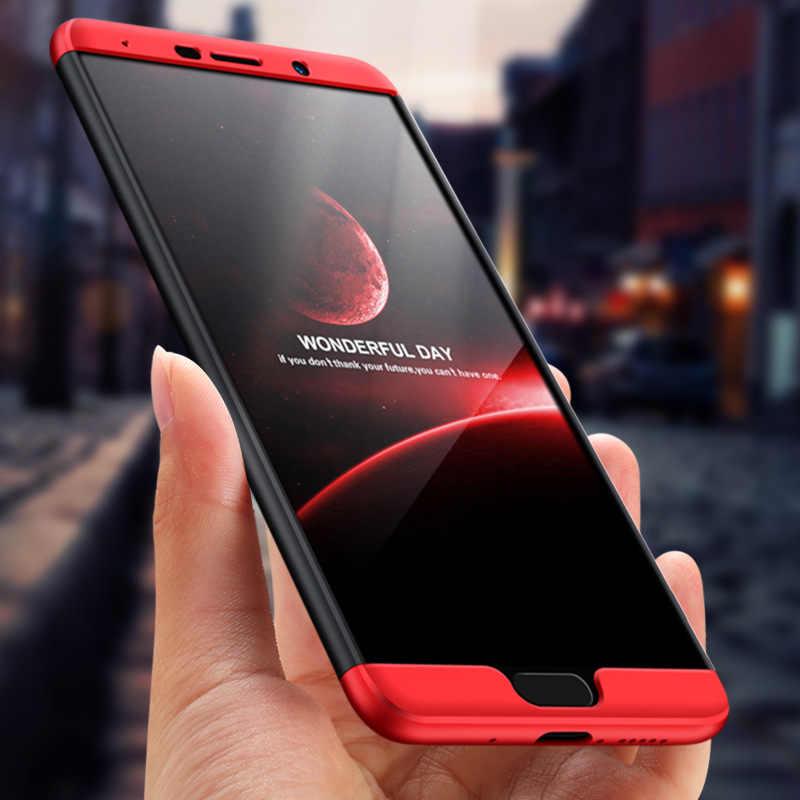 กรณีเดิมสำหรับ Huawei Mate10 Case 360 ป้องกัน Anti-KNOCK 3 ใน 1 Hard MatteCover popsocket สำหรับโทรศัพท์มือถือโทรศัพท์ попсокеты