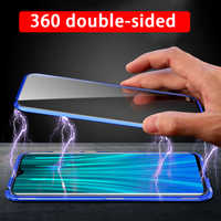 360 double-sided tempered glass magnetic case on the for Xiao Redmi Note 8T 8 7 K20 Pro 8A Xiomi Red Mi Note8t Note8 T A Coque