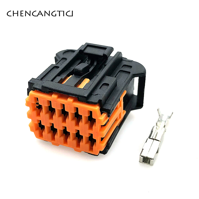 2 Sets Molex 1.5mm 10 Pin/way Peugeot 206 Side Mirror Female Plastic Auto Electrical Wire Connector Plug 98816-1011