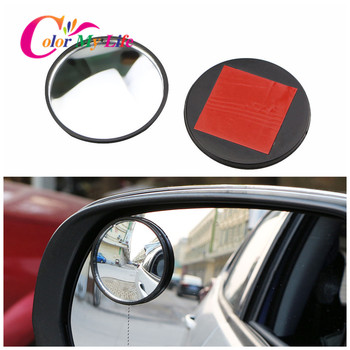 Car Wide Angle Rear View Convex Mirror Stickers for BMW 1/2/3/4/5/6/7 Series E90 E91 E92 E93 F30 F20 F10 F15 F13 X1 X3 X4 X5 X6 image