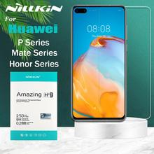 Huawei Honor 30 30s 20 Pro 10 9X V10 Tempered Glass Nillkin Safety Protective Glass Screen Protector on Huawei P40 P30 P20 Lite
