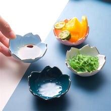 Керамическая креативная тарелка в виде вишни миска для супа