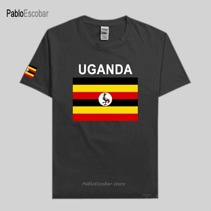Uganda Ugandan men t shirts jerseys nation team tshirt 100% cotton t-shirt gyms clothing tees country sporting flags UGA