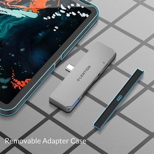 Image 4 - USB C wielu Port koncentratora dla nowego ipada Pro 11/12.9, z 4K HDMI, USB 3.0, SD/karta Micro SD czytelników, dostarczania mocy i 3.5mm Aux