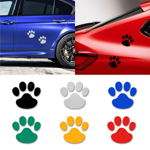 2Pcs Cute Dog Paw Car Sticker Cool Design Paw Car Stickers for LEXUS RX300 RX330 RX350 IS250 LX570 is200 is300 ls400 car styling