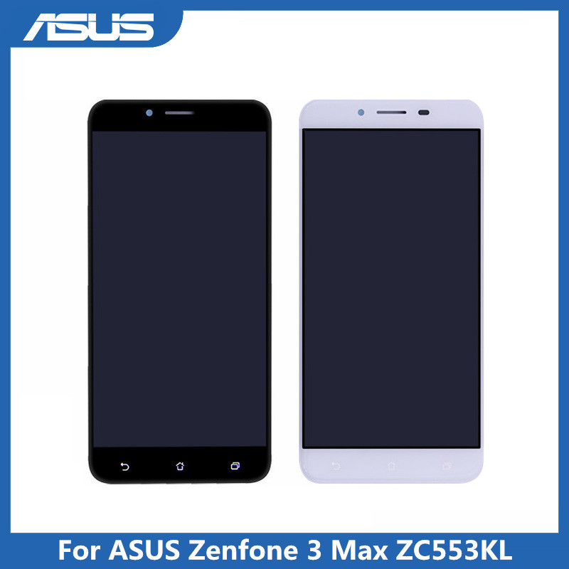 Original Asus <font><b>ZC553KL</b></font> LCD <font><b>Display</b></font> Touch Screen digitizer Assembly Replacement For Asus ZenFone 3 Max <font><b>ZC553KL</b></font> X00DD LCD screen image