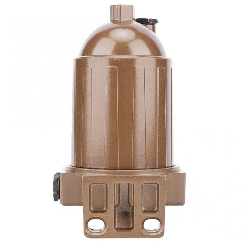 Assemblage multifonctionnel de séparateur d'eau de filtre à carburant Compact 110A pour l'alliage d'aluminium de filtre à carburant de réservoir d'huile de Yacht