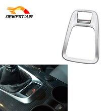 Car Center Console Gear Shift Knob Trim Panel Cover For Peugeot 3008 Accessories