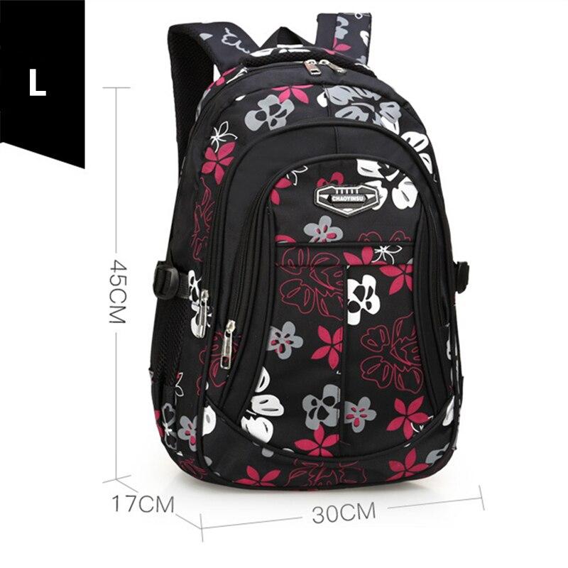 Новый большой детский школьный рюкзак, милый школьный рюкзак с принтом, водонепроницаемый рюкзак, школьные сумки для девочек подростков|Школьные ранцы|   | АлиЭкспресс