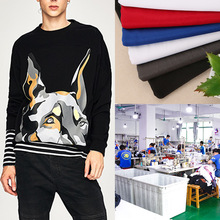 Factory Clothing New Style Hand-Painted Pattern Pullover Hoody Printed Plans to Sample Small Batch Production Customizable