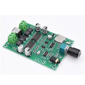 Image 2 - Беспроводная Bluetooth 5,0 аудио стерео цифровая плата усилителя искусственная двухканальная HD 20 Вт + 20 Вт AUX TF карта искусственная карта