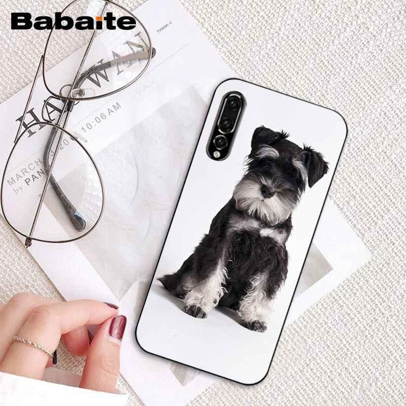 Чехол для телефона Babaite Lovely Dogs Schnauzer для huawei P20 P30 P20Pro P20Lite P30Lite P Smart P10Lite