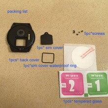 Kingwear – montre connectée kw88 pro, en plastique, avec couvercle arrière noir, originale