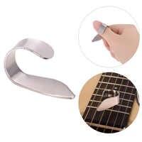 Thumb Finger-púas de acero inoxidable para guitarra eléctrica acústica