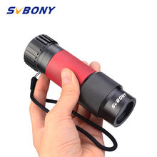 SVBONY 8x25/10x25 Metal Monocular Multi-layer Coated Imaging Clear Mini Portable Travel Opera Theater Museum Telescope SV301(China)