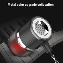 Wired Earphones With Microphone For V12 Metal Super Bass Stereo Earbuds in ear 3