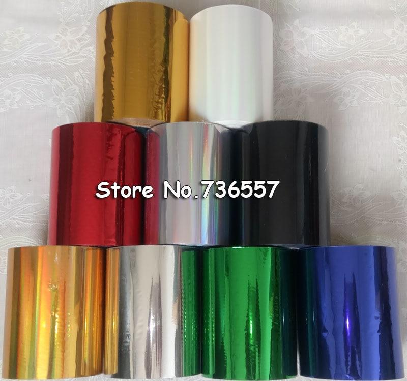 Hot Stamping Foil Hot Foil Stamping Paper Golden Silver DIY Gift Processing Foil
