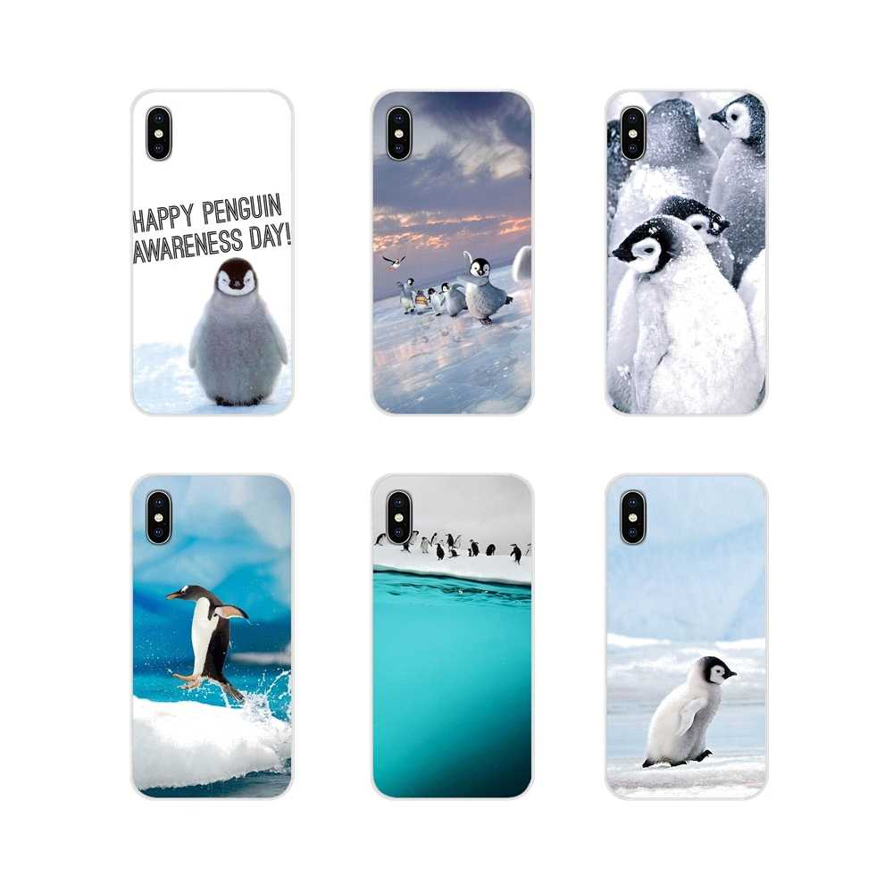Accessories Phone Shell Covers Baby Penguin cute For Xiaomi Redmi 4A S2 Note 3 3S 4 4X 5 Plus 6 7 6A Pro Pocophone F1
