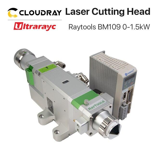 Ultrarayc BM109 Raytools Fiber Cutting Head 0 1.5kW Auto Focusing for Carbon Steel Cutting