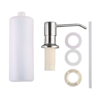 Universal Home Bathroom Kitchen Liquid Soap Dispenser Bottle Stainless Steel Hand Liquid Soap Dispensers Spray клиник liquid facial soap mild