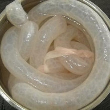 Emballage de soja comestible pour chien, traitement de la nourriture, boîtier de saucisse, cuisine, cuisson large, coquille de mouton de diamètre de qualité