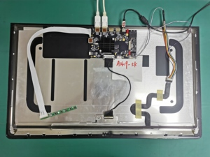 Image 2 - עבור iMac A1419 5k 2K A1418 4k 2K LCD LED מסך תצוגת LM270WQ1 LM270QQ1 LM215WF3 LM215UH1 מבחן בקרת נהג לוח