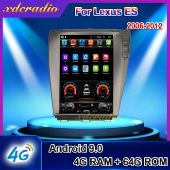Xdcradio 10.4 Android 9.0 For Lexus ES ES240 ES300 ES330 ES350 Car Radio Car Multimedia Player Auto GPS Navigation 4G 2009-2012 image