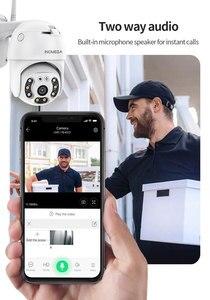 INQMEGA TUYA PTZ IP Камера на открытом воздухе, Wi-Fi, 1080P и 3MP Беспроводной безопасности IP Cam видео автоматическое слежение за видеонаблюдения белый св...