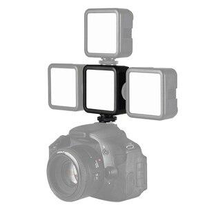 Image 4 - Ulanzi miniluz LED para vídeo VL49, 6W, batería integrada de 2000mAh, iluminación fotográfica de 5500K para cámara DSLR Canon, Nikon, Sony