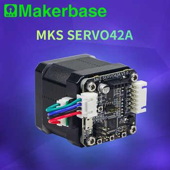 Makerbase MKS SERVO42A NEMA17 closed loop stepper motor Driver CNC 3d printer parts prevents losing steps for Gen_L SGen_L - Category 🛒 All Category