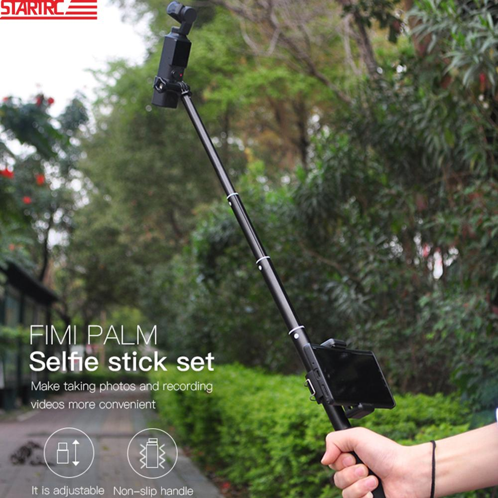 Handheld Selfie Stick Kit Portable Grip With Mobile Phone Holder For FIMI PALM Handheld Gimbal Camera Accessories Outdoor Travel