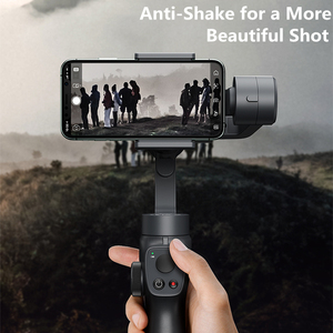 Image 2 - Baseus 3 Axis Handheld Gimbal Stabilizer Smartphone Selfie Stick for iPhone 11 Pro Max Samsung Xiaomi Vlog Mobile Phone Gimbals