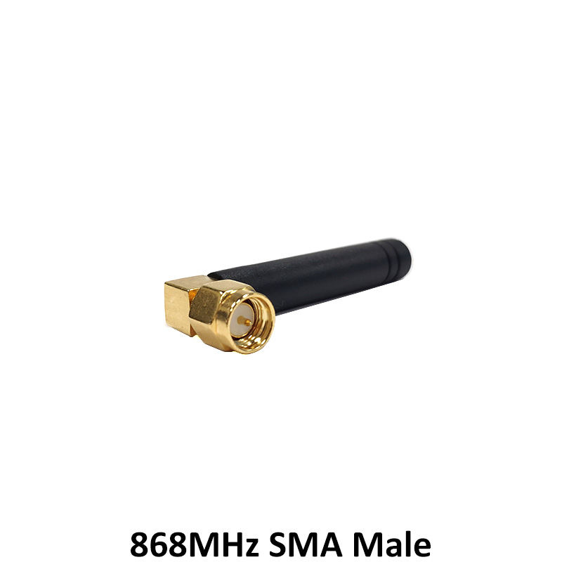 10pcs 868MHz 915MHz Antenna 2dbi SMA Male Connector GSM 915 MHz 868 MHz antena antenne 21cm RP SMA u FL Pigtail Cable in Communications Antennas from Cellphones Telecommunications