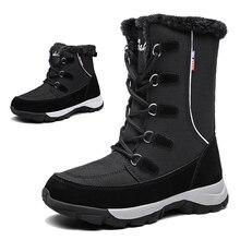 TKN bottines femmes chaussures 2019 hiver en cuir véritable cales bottes de neige femme à lacets plate forme bottes bottes de fourrure dames 1621