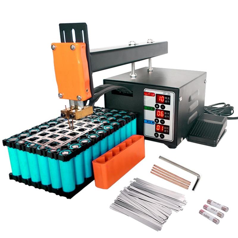 JST-IIS Spot Welding Machine High Power 3KW Use For 18650Lithium Batteries Pack Spot Welding Precision Pulse Spot Welder Machine