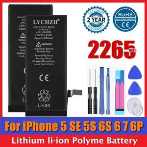Mobile-Phone-Battery Replacement iPhone 6s Bateria 6-Plus AAAAA for SE 2265mah 5S Real-Capacity