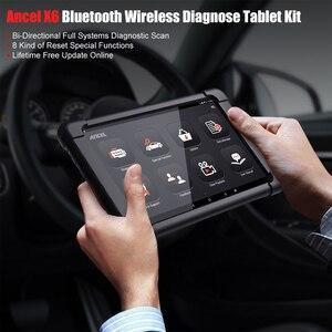 Image 3 - Ancel X6 OBD2 Scanner Full system Diagnostic Tool Bluetooth Wifi TPMS EPB IMMO Reset OBD2 Auto Car Diagnostic Tool